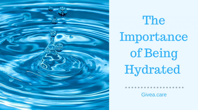 The Importance of Being Hydrated